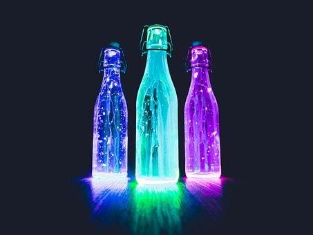 Neon, Art, Color, Colorful, Light, Mystical, Glow