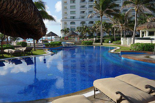 Cancun, Pool, Holiday, Rest