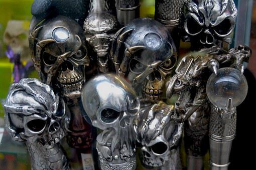 Skulls, Heads, Anatomy, Horror, Dead, Spooky, Halloween