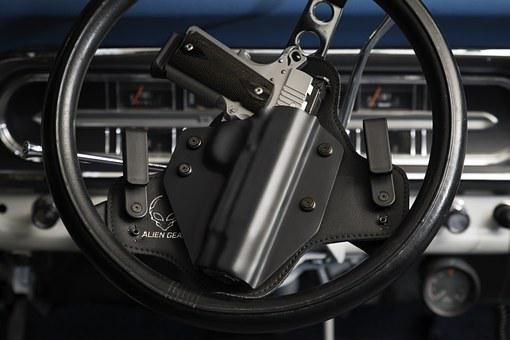 Holster, Gun, Pistol, Handgun, Weapon, Protection