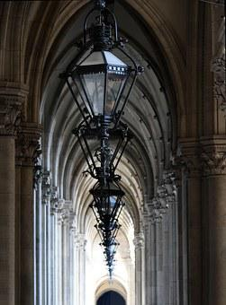 Gallery, Vienna, Hofburg, Streetlights, Arcades