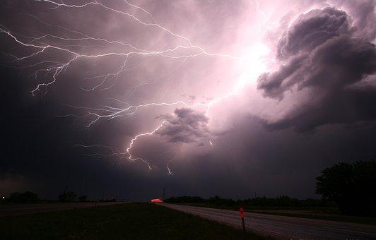 Lightning, Thunder, Lightning Storm, Storm, Energy