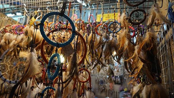 The Dream, Catcher, Dream, Indian, Tribal, Feather