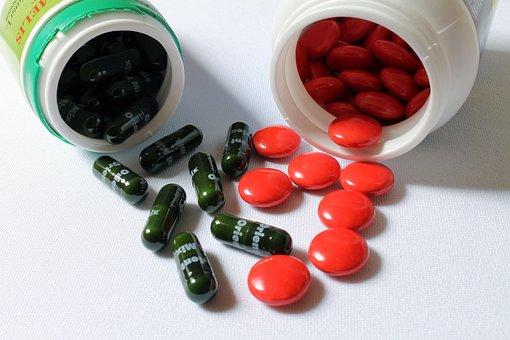 Tablets, Pills, Vitamins, Supplement