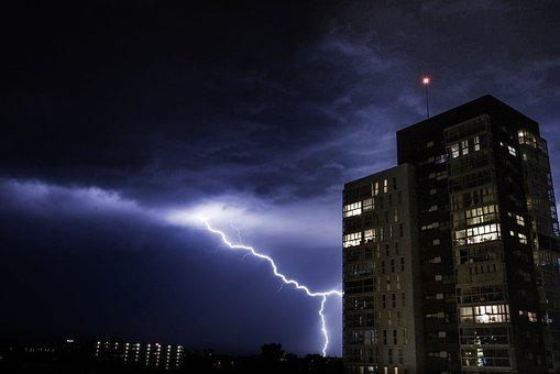 Thunder, Weather, Storm, Sky, Cloud, Rain, Lightning