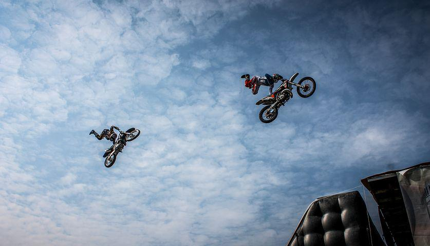 Biker, Motorcycle, Artists, Action, Dirt, Extreme, Bike