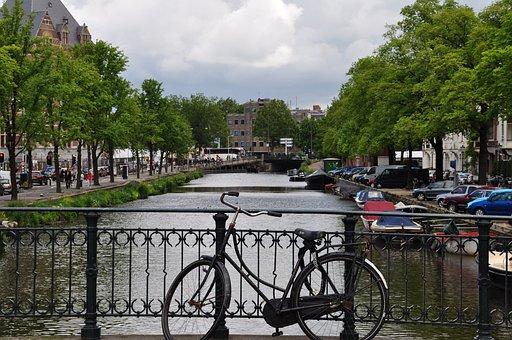City, Bike, Europe, Tourism, Cycle, Bicycle, Biking