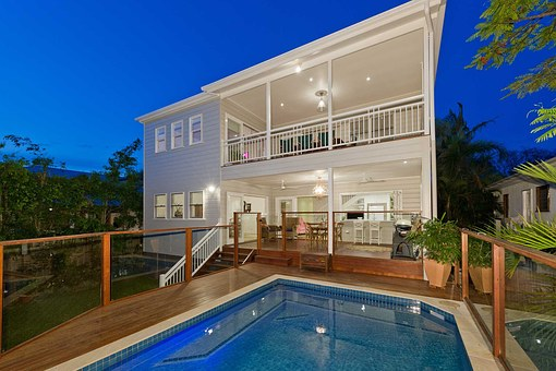 Decking, Remodel, Home, House