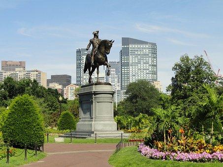 Boston, Massachusetts, City, Cities, Statue