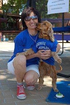 Dog, Hug, Volunteering, Service, Pecel, Children's Day