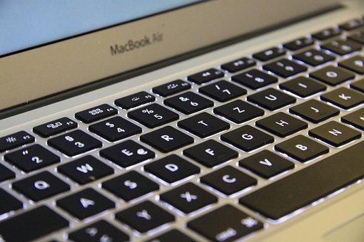 Computer, Computer Keyboard, Keyboard, Macbok Air