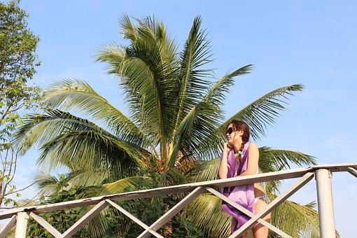 Thailand, Girl, Woman, Vacation, Bathing Suite, Bikini