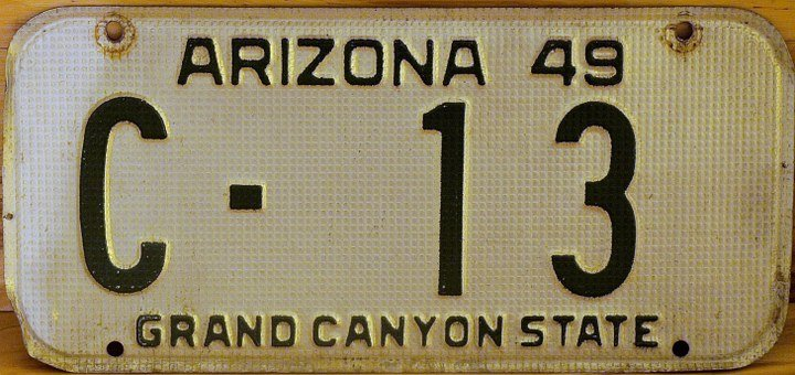 License Plate, Arizona, Plate, Driver, Sign, Travel