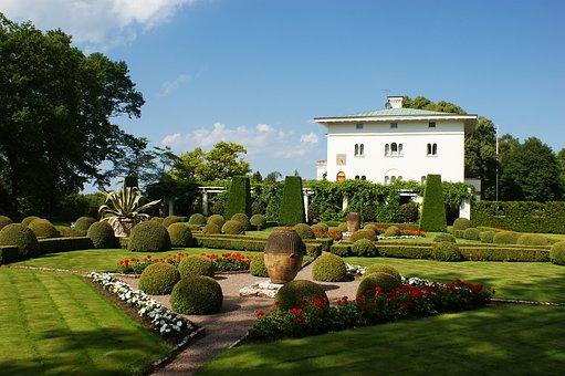 Oland, Summer, Castle, Sollidenvägen, Park, Garden