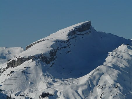 High, Ifen, Mountain, Alpine, Allgäu, Rock, Ski Area