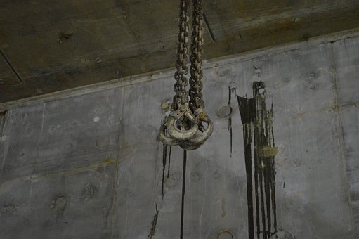 Cable, Hoisting, Pulley, Construction, Steel, Concrete
