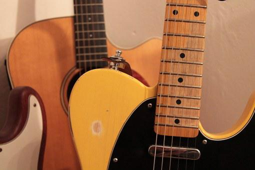 Guitar, Music, Telecaster