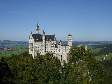 Neuschwanstein Castle, Fairy Castle, Castle