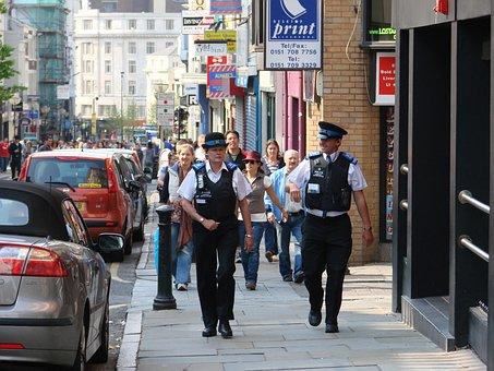 Liverpool, Streets, Merseyside, Police