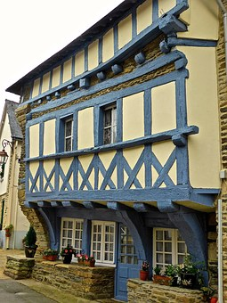 Medieval, Half Timbered, Architecture, Facade, Exterior