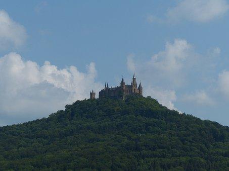 Hohenzollern, Hohenzollern Castle, Castle, Mountain