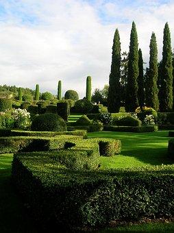 French Garden, 18th Century, Mansion Eyrignac