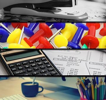 Office, Office Supplies, Binder, Stapler, Pineski
