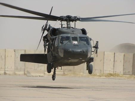 Helicopter, Iraq, Blackhawk, Military, War, Army