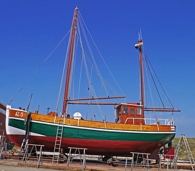 Dry Dock, Cutter, Repair, Paint, Revision, Seemed