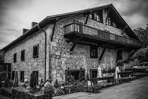 House, Hotel, Landscape, Basque Country, Facade, Estate