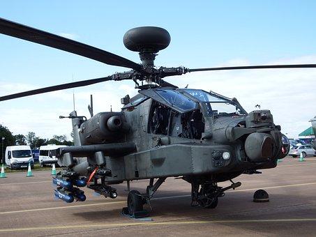Apache, Gunship, Helicopter, Military, Attack, Chopper