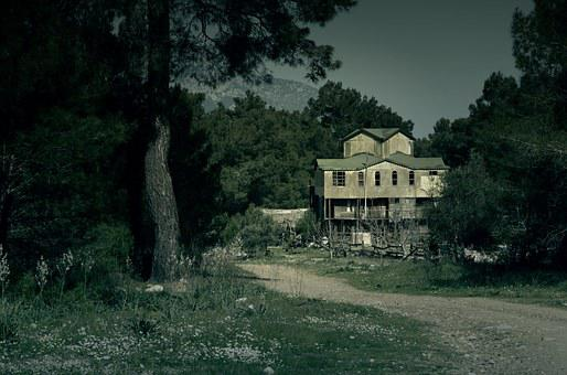 Haunted, House, Dark, Halloween, Haunted House, Old
