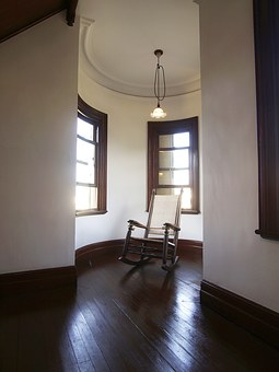 Western-style, Meiji, Mansion, Building, History, Chair