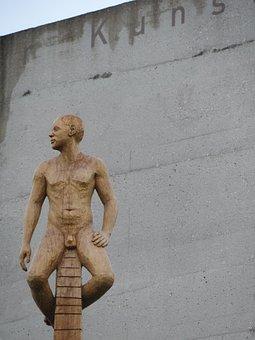 Perspektivwechsel, Live Naked, Art, Sculpture