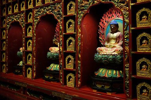 One Hundred Buddhas, Temple Of The Tooth, Relic