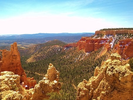 Bryce Canyon, Scenic, Canyon, Landscape, Nature, Bryce