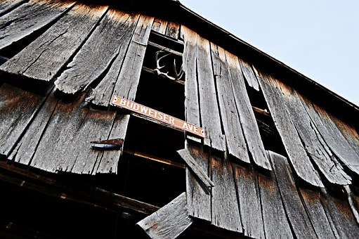 Barn, Wood, Budweiser Ave, Across The Country, Kentucky