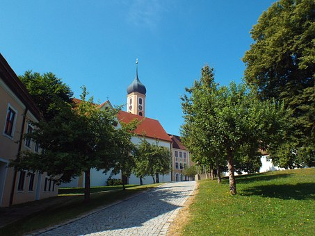 Oberschönenfeld, Abbey, Church, Monastery, Religion
