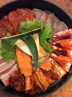 Grill, Korean, Food, Barbecue, Cooking, Pork, Cook