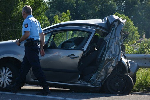 Accident, Car Accident, Car, Scrap, Crash, Perte Total