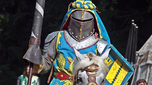 Knight, Middle Ages, Tournament, Knights Joust, Armor