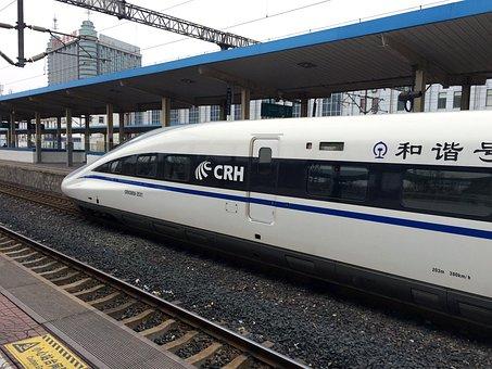 Train Station, Train Crash, High Speed Rail, Train