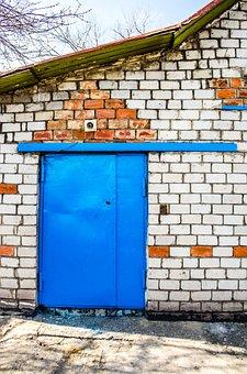 Warehouse, Door, Premises, Industrial, Storage