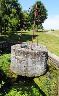 Well, Stone Well, France, The Farms, Charente, Water
