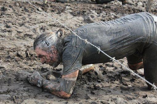 Poking, Forefinger, Indicate, Training, Dirt, Rough