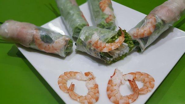 Food, Street Food, Viet Nam Food, Spring Roll