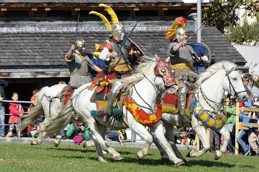 Rieter, Fight, Romans, Cavalry, Weapons, Sword, Horse