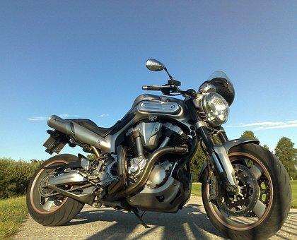 Motorcycle, Cycle, Transportation, Yamaha Mt-01