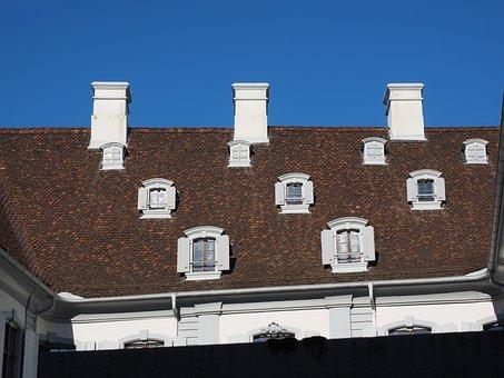 Roof, Fireplace, Window, Roof Windows, Staatsarchiv
