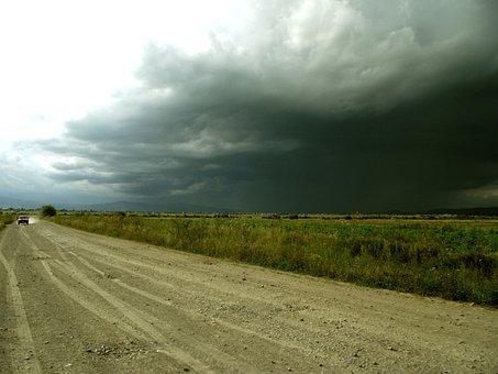 The Land Of The, Storm, Rain, Landscape